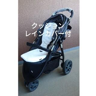 KATOJI - KATOJI ベビーカー 3輪 クッション レインカバー付き