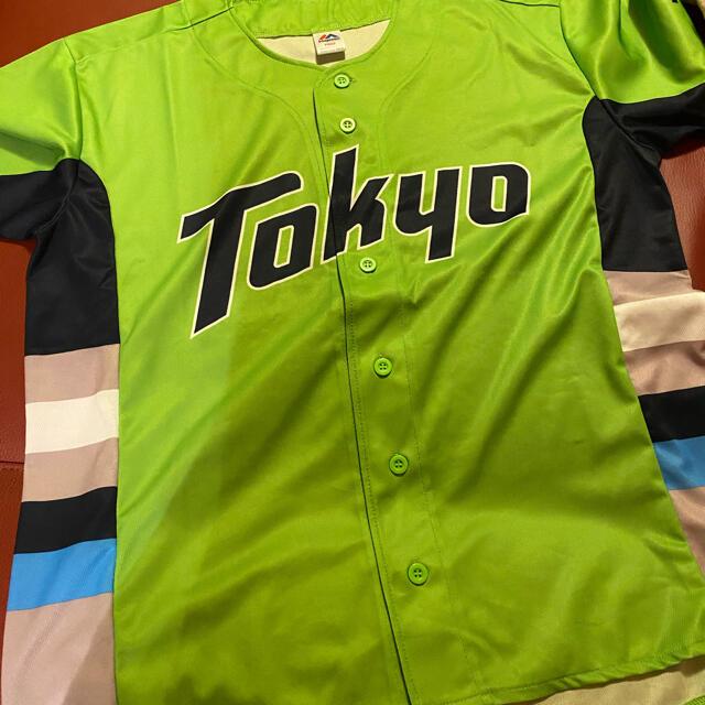 東京ヤクルトスワローズ(トウキョウヤクルトスワローズ)のヤクルトスワローズ ユニフォーム スポーツ/アウトドアの野球(応援グッズ)の商品写真