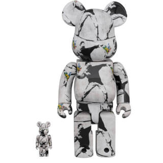 MEDICOM TOY - BE@RBRICK FLOWER BOMBER  100%&400%