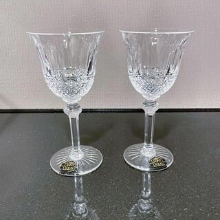 Baccarat - サンルイ トミー  ワイングラス ペア 未使用