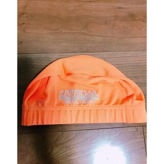 MIZUNO - L セントラル スイミング 帽子 オレンジ スイミング