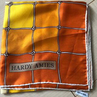 ハーディエイミス(HARDY AMIES)のハーディ エィミスシルクスカーフ(バンダナ/スカーフ)