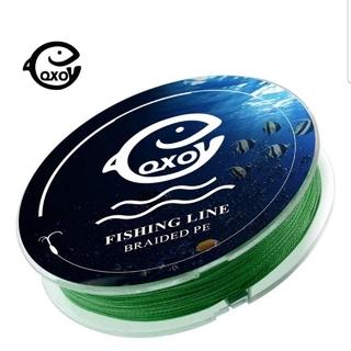 超大人気☆グリーンカラー!高品質、飛距離、高強度!四つ編み式 PEライン 100(釣り糸/ライン)