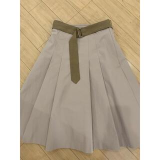 PROPORTION BODY DRESSING - プロポーション 膝丈スカート
