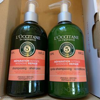 L'OCCITANE - ロクシタン ファイブ ハーブス リペアリング シャンプー&コンディショナー 5…