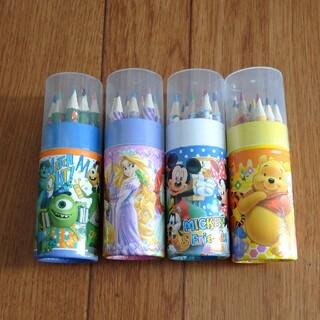 ディズニー(Disney)の【未使用】ディズニー ミニ色鉛筆(色鉛筆)