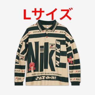 """ナイキ(NIKE)のNike CPFM Longsleeve Polo """"Natural"""" Lサイズ(Tシャツ/カットソー(七分/長袖))"""