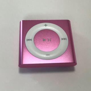 アップル(Apple)のiPod shuffle 4世代 2GB ピンク系紫-4(ポータブルプレーヤー)