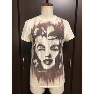 クロエ(Chloe)の定価約2,4万 Chloe クロエ プリントカットソー Tシャツ/(Tシャツ(半袖/袖なし))
