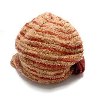 アンテプリマ(ANTEPRIMA)のアンテプリマ - ライトブラウン×ブラウン(ニット帽/ビーニー)