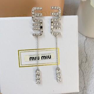 miumiu - 美品オススメミュウミュウ/MIUMIUピアス