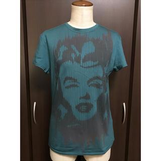 クロエ(Chloe)の定価約2,4万 Chloe クロエ プリントカットソー Tシャツ/ピーコック(Tシャツ(半袖/袖なし))