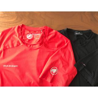 マムート(Mammut)のMAMMUT & BODY WILD 吸収速乾Tシャツ2枚セット Lサイズ(登山用品)