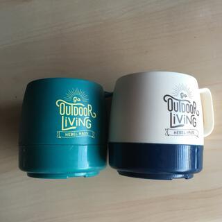 チャムス(CHUMS)のヘーベルハウスのマグカップ2個(食器)