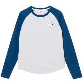LACOSTE - 【新品】定価¥9,900 ラコステ 長袖 コットン ラグランスリーブ Tシャツ