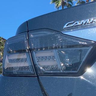 トヨタ(トヨタ)のカムリ50前期 社外テール LEDスモークファイバーテール AVV50 カムリ(パーツ)