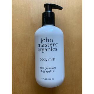ジョンマスターオーガニック(John Masters Organics)のジョンマスターオーガニック ボディミルク ゼラニウム&グレープフルーツ(ボディローション/ミルク)