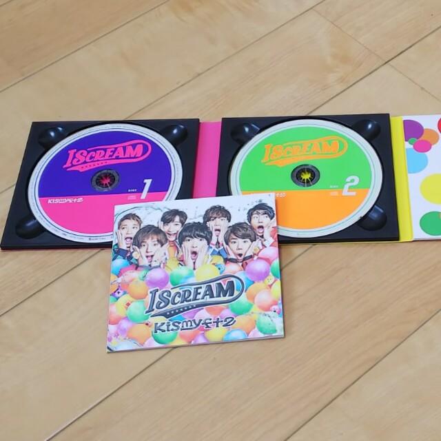 Kis-My-Ft2(キスマイフットツー)の「I SCREAM」CD エンタメ/ホビーのCD(ポップス/ロック(邦楽))の商品写真
