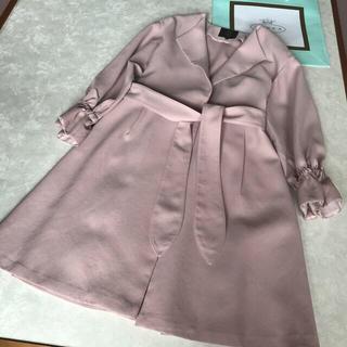 トッカ(TOCCA)の【TOCCA】トレンチコート 4 薄いピンク色(トレンチコート)