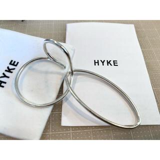 HYKE - HYKE ダブルリングイヤーカフ