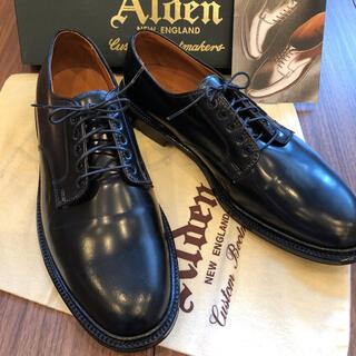 Alden - 【新品 未使用】Alden コードヴァン プレーントゥ