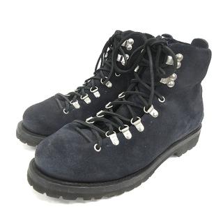 ブッテロ(BUTTERO)のブッテロ BUTTERO ブッテロ スエード トレッキングブーツ 靴 ネイビー(ブーツ)
