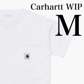 carhartt - 57 【黒ロゴ】 新品 カーハート WIP 半袖 白 ポケット Tシャツ