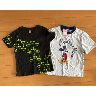 Disney - ディズニー Tシャツ110 2枚セット 新品含む