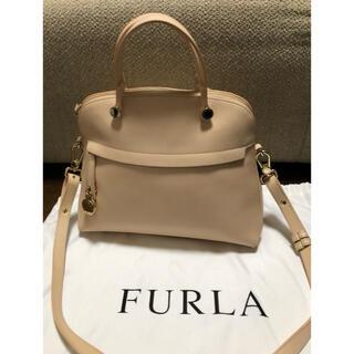 Furla - フルラ FURLA パイパー ピンクベージュ ショルダー ハンド バッグ M