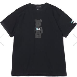 アトモス(atmos)のWDS×ATMOS×BE@RBRICK コラボ Tシャツ L 黒 キムタク(Tシャツ/カットソー(半袖/袖なし))