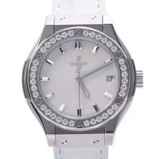 ウブロ(HUBLOT)のウブロ  クラシックフュージョン 33mm ベゼルダイヤ 腕時計(腕時計)