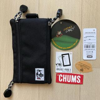 チャムス(CHUMS)のチャムス CHUMS コーデュラエコメイド エコキースマートフォンケース(モバイルケース/カバー)