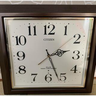 シチズン(CITIZEN)のシチズン CITIZEN 電波時計 掛け時計  4MY803-006(掛時計/柱時計)