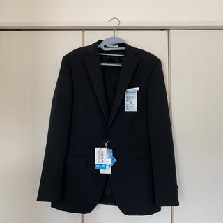 アオキ(AOKI)の就活スーツ メンズ ブラックスーツ ツーパンツ(セットアップ)
