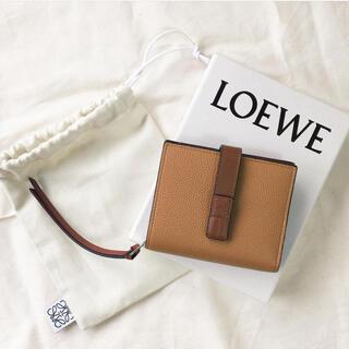 LOEWE - 新品 LOEWE ロエベ コンパクトジップウォレット 二つ折り財布