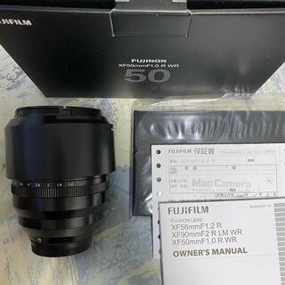 富士フイルム - XF 50mm f1.0