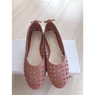 トッカ(TOCCA)のTOCCA クローバー フラットシューズ(ローファー/革靴)