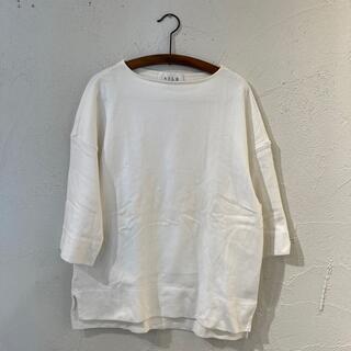 エディフィス(EDIFICE)のAILE per EDIFICE 5分袖バスクシャツ(Tシャツ/カットソー(七分/長袖))