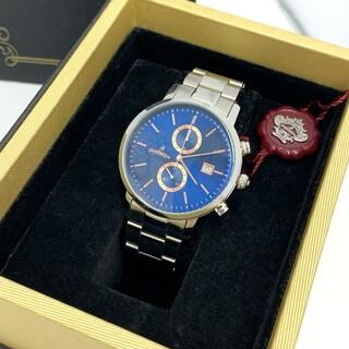 Orobianco - オロビアンコ チェルト クロノグラフ メンズ ブルー 腕時計 OR0070