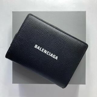 Balenciaga - バレンシアガ 折り財布 ブラック レザー 小銭入れ付き 21SS