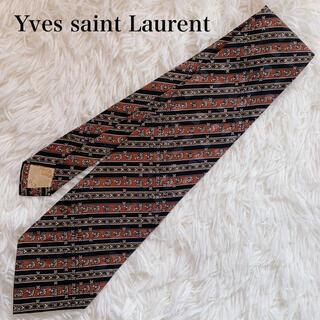 Saint Laurent - 極美品 イヴサンローラン ネクタイ 高級シルク ストライプ柄 花柄 水玉 人気柄