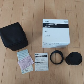 SIGMA - SIGMA 24-70mm F2.8 DG DN ソニー Eマウント 保証付き