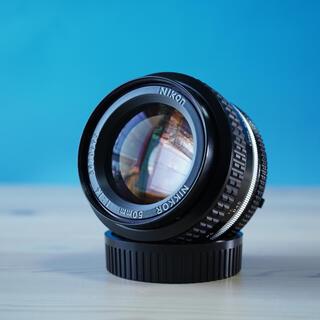 Nikon - 【実用良品】 Nikkor ai 50mm f1.4  人気の単焦点