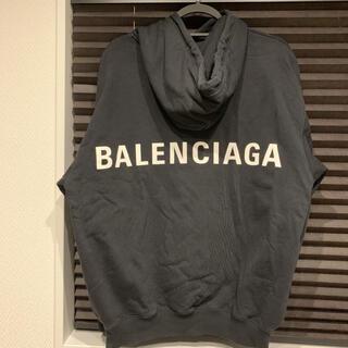 Balenciaga - balenciaga バックロゴ パーカー S