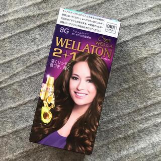 ウエラ(WELLA)のウエラトーン ツープラスワン クリームヘアカラーa 8G(白髪染め)