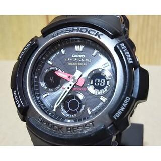 G-SHOCK - CASIO G-SHOCK AWG-101 電波 ソーラー アナデジ 腕時計