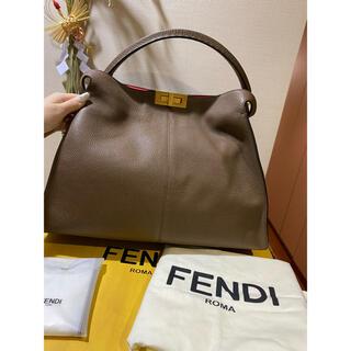 FENDI - FENDI エックスライト ピーカブー セレリア ラージ
