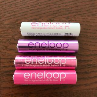 サンヨー(SANYO)のエネループ eneloop 単4形充電式ニッケル水素電池(バッテリー/充電器)