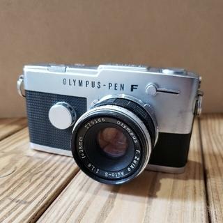 OLYMPUS - ビンテージ フイルムカメラ   オリンパス Pen FT F1.8 38mm