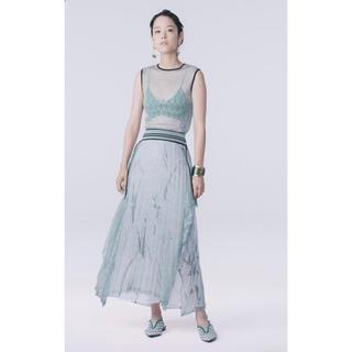 マメ(mame)のMame Kurogouchi Wrapping Knit Skirt(ロングスカート)